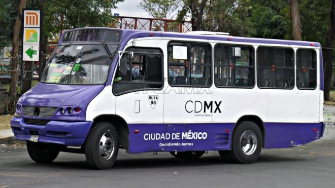 Bus in CDMX