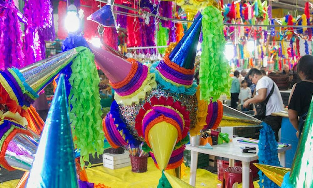 Piñatas en Mexico