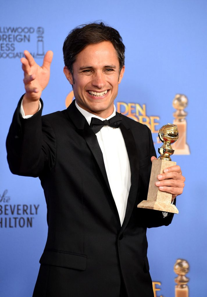 Gael García at Golden Globes