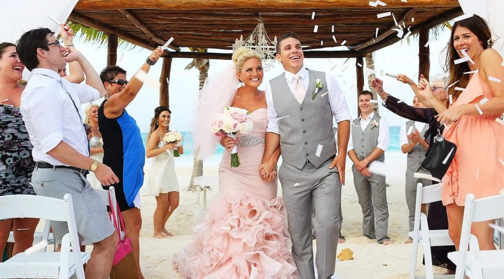Cancun is a perfect place for a wedding