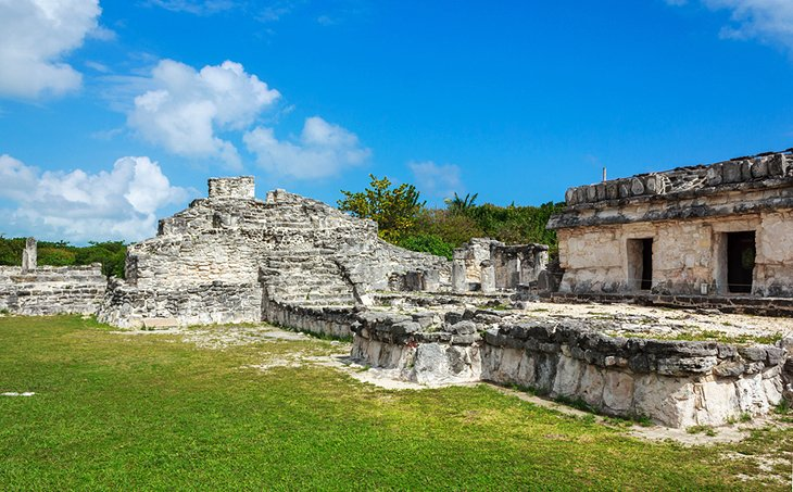 Ruins of El Rey in Cancun