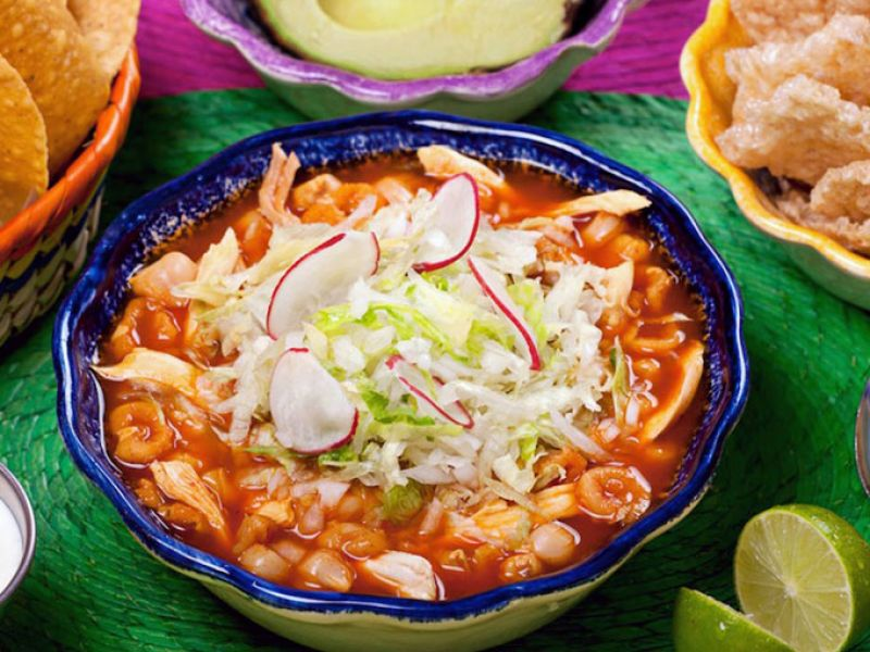 A good dish of pozole