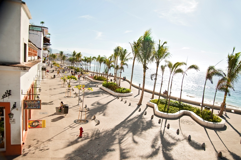 the malecon in puerto vallarta