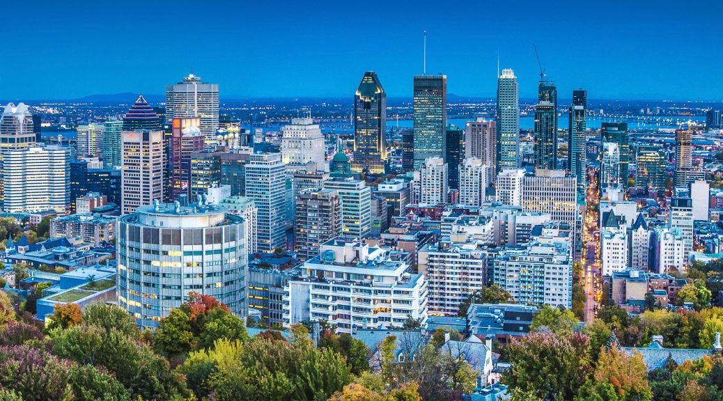 Photo of the city of Montreal