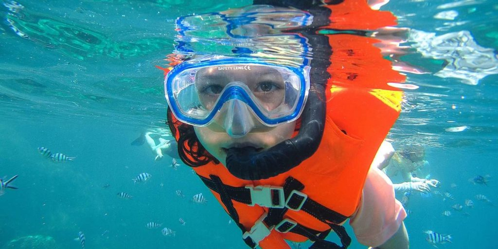 snorkeling in cancun is a great experience