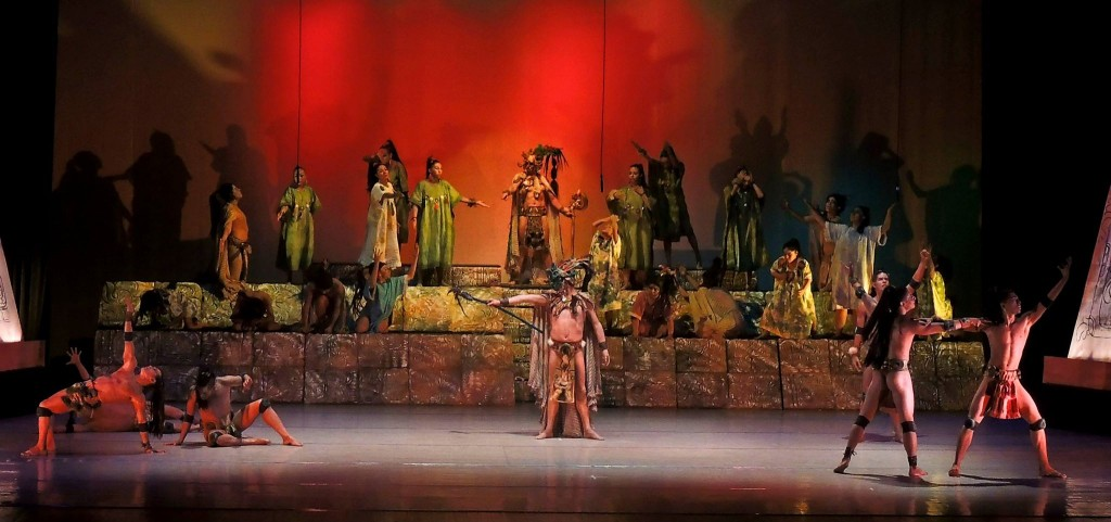 danza de los dioses en Guatemala