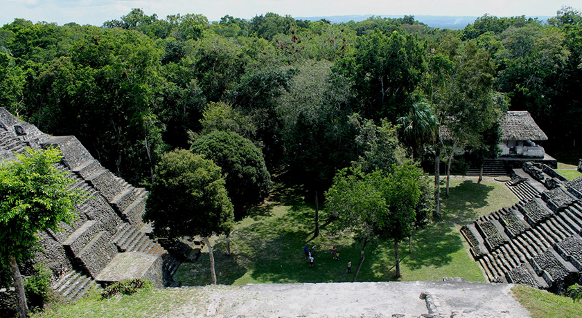 Ruinas-Flores en guatemala